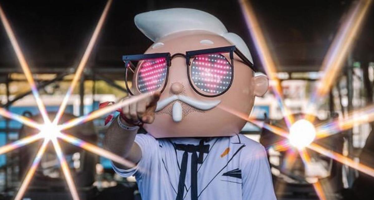 Colonel Sanders Announces 'Finger Lickin' Good World Tour'