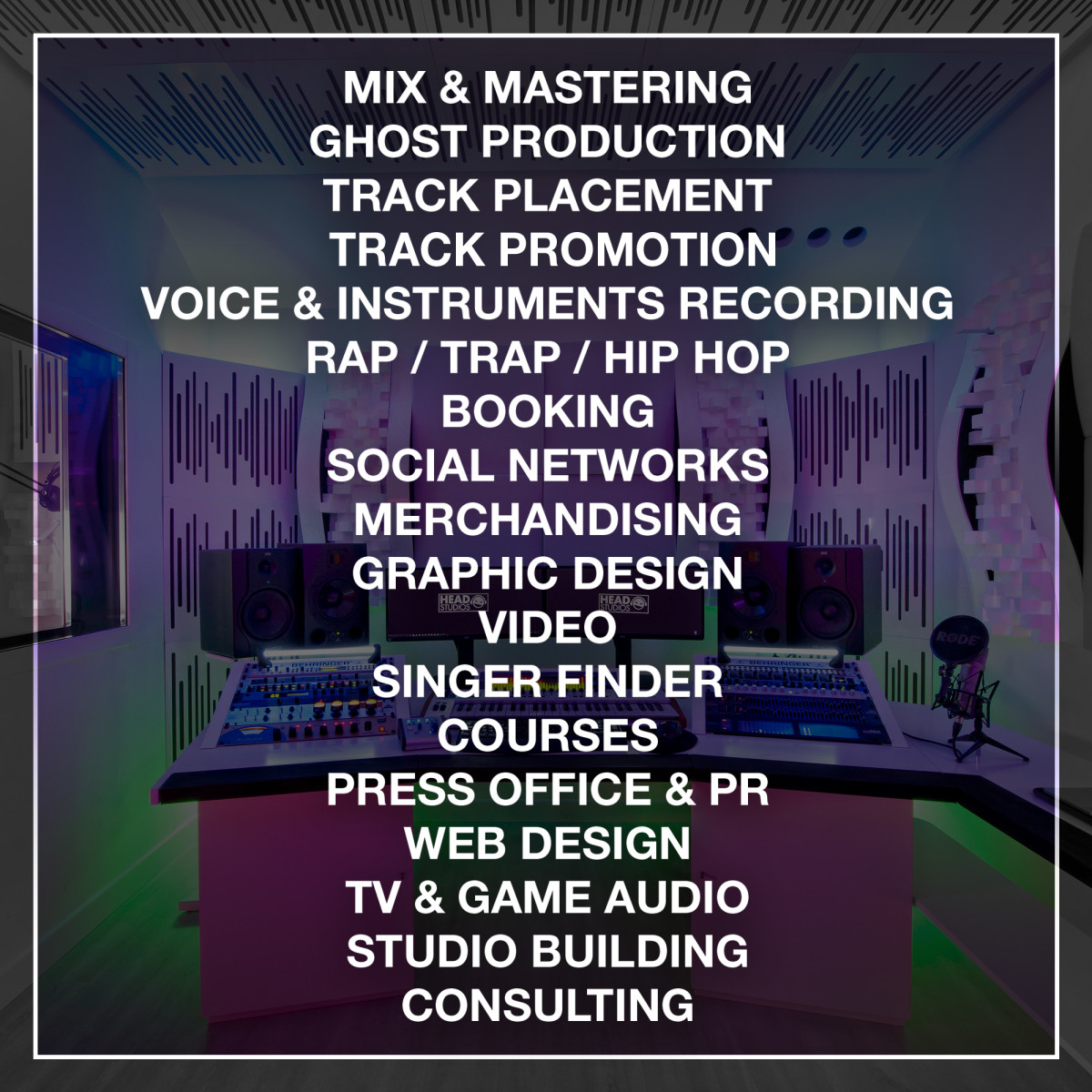 HEAD STUDIOS / Luca Testa - Service Offerings (Mix & Mastering, Ghost Production, Track Placement) - EDM.com Feature