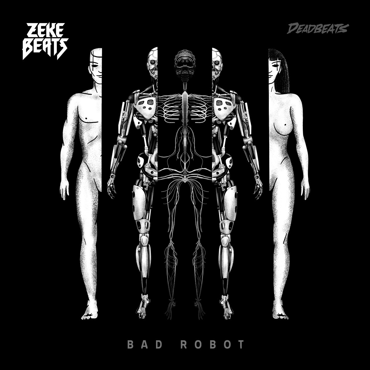 ZEKE BEATS - Bad Robots EP on Deadbeats, EDM.com Feature, Zeds Dead Record Label