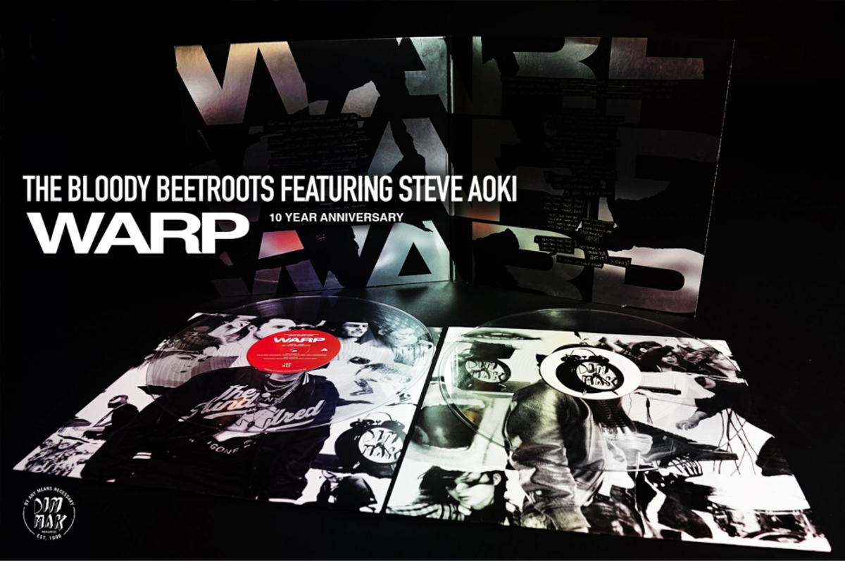 The Bloody Beetroots featuring Steve Aoki - WARP (10 Year Anniversary - Vinyl Edition) --- EDM.com Feature