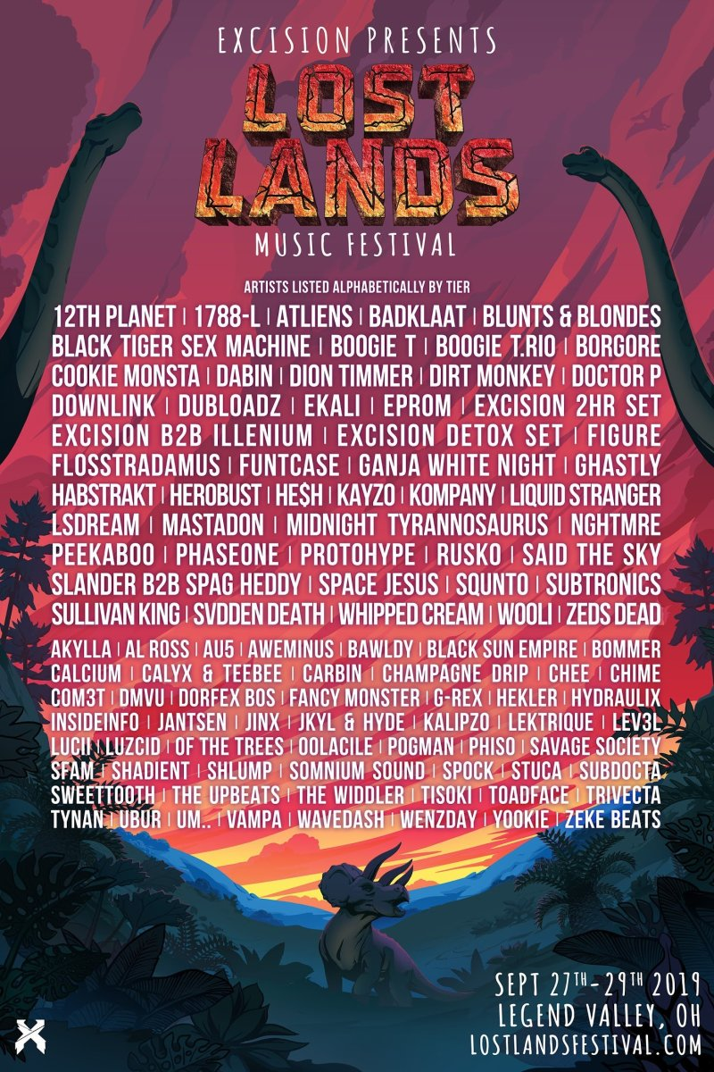 Lost Lands 2019 lineup