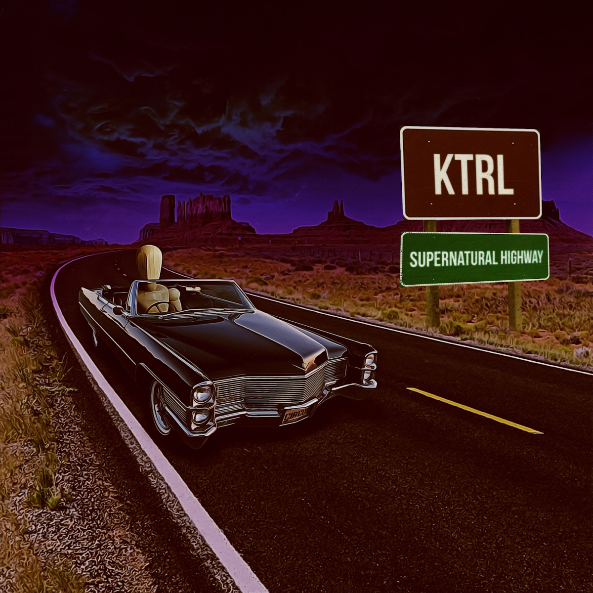 KTRL - Supernatural Highway EP on Circus Records (Album Artwork) -- EDM.com Feature