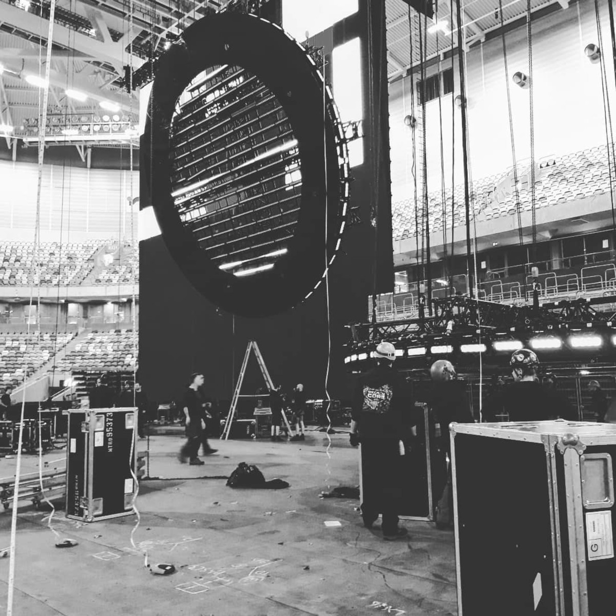⋆ The First Photos of Swedish House Mafia's Stage Setup Are