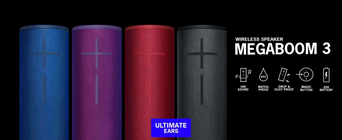 Ultimate Ears - Megaboom 3 Product Shot (EDM.com Feature for Lyon Competition)