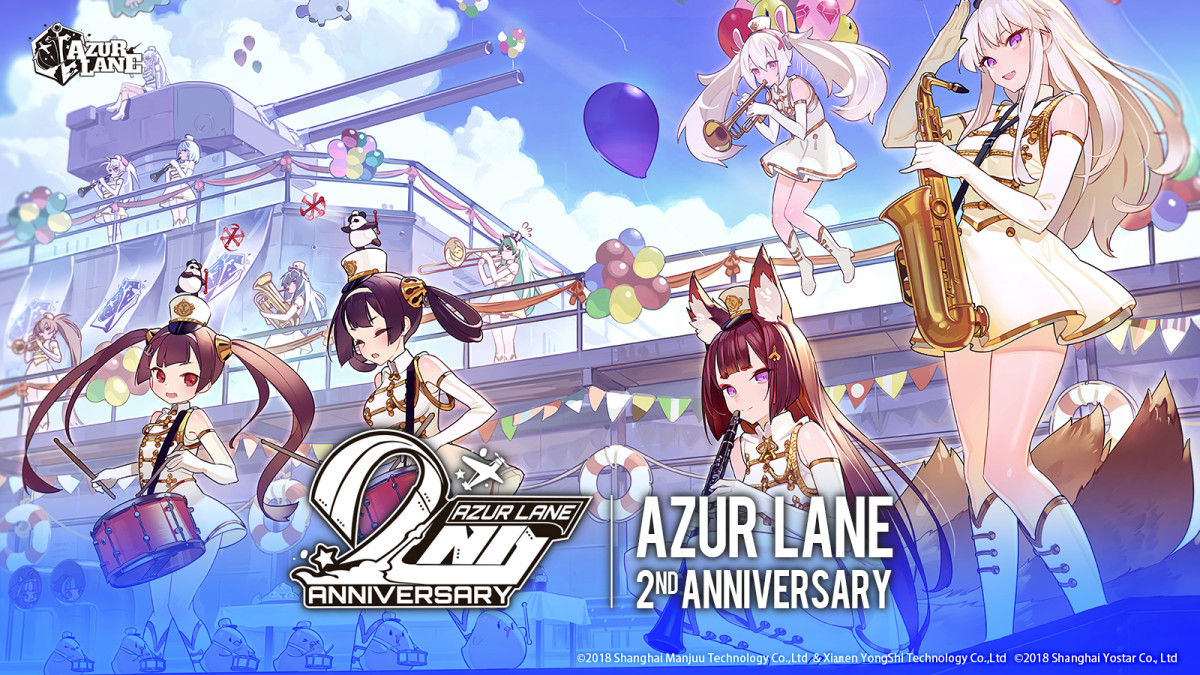 Azur Lane 2nd Anniv