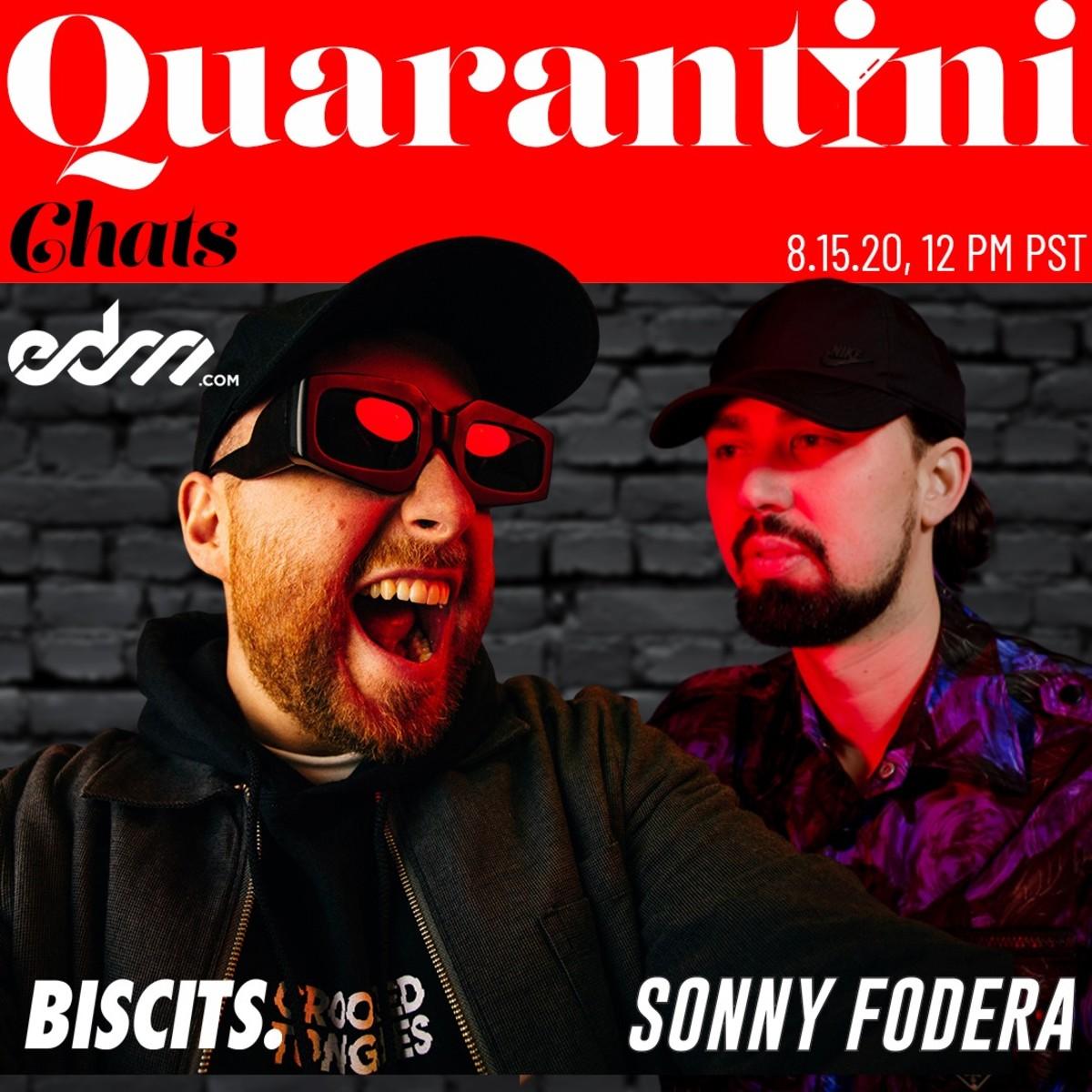 """EDM.com Presents """"Quarantini Chats"""" Episode #5: Biscits & Sonny Fodera"""