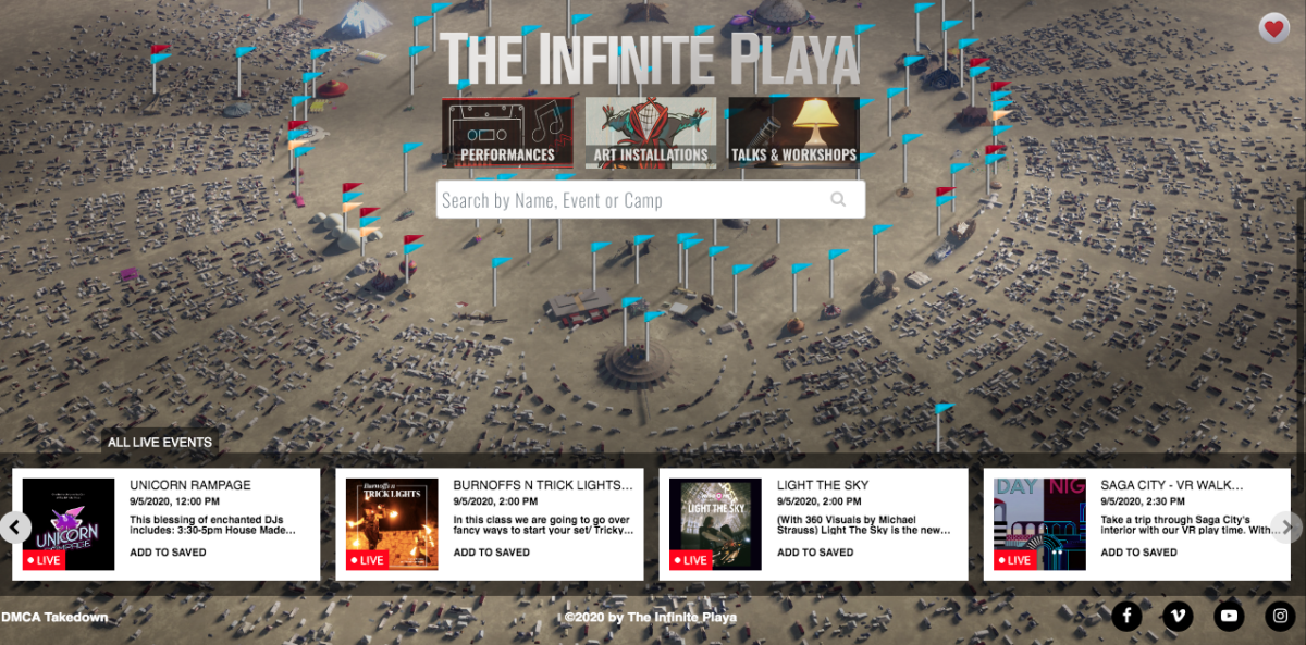Burning Man's Infinite Playa