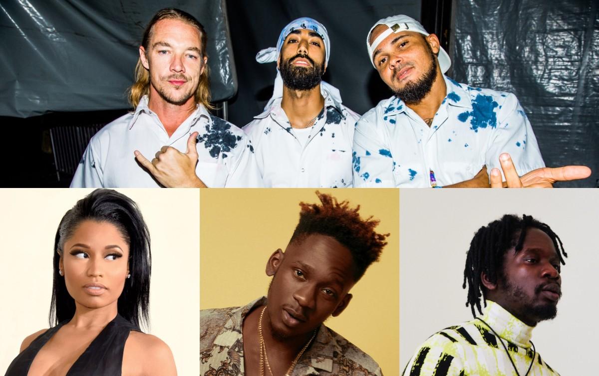 "Mr Eazi and Major Lazer Drop Massive Collab ""Oh My Gawd"" with Nicki Minaj and K4mo"