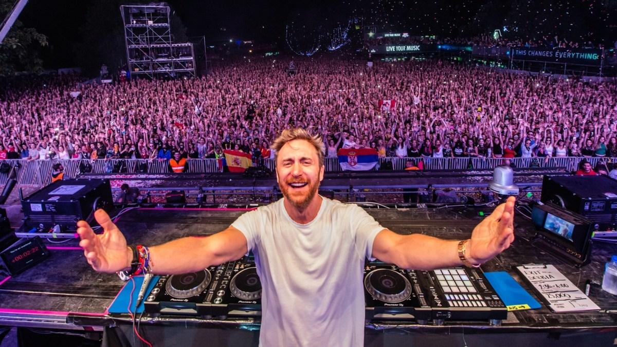 David Guetta Live
