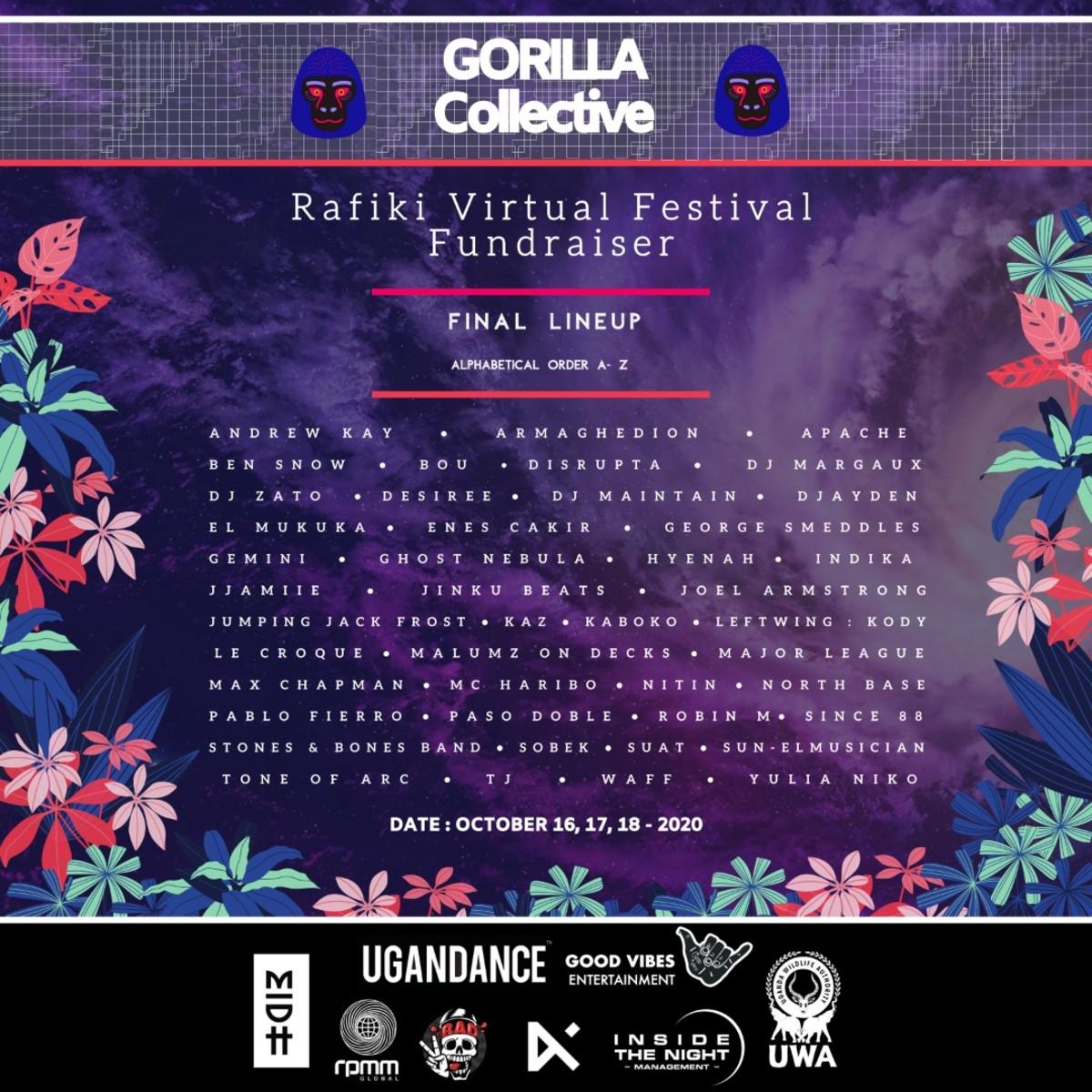 Rafiki Virtual Festival Fundraiser