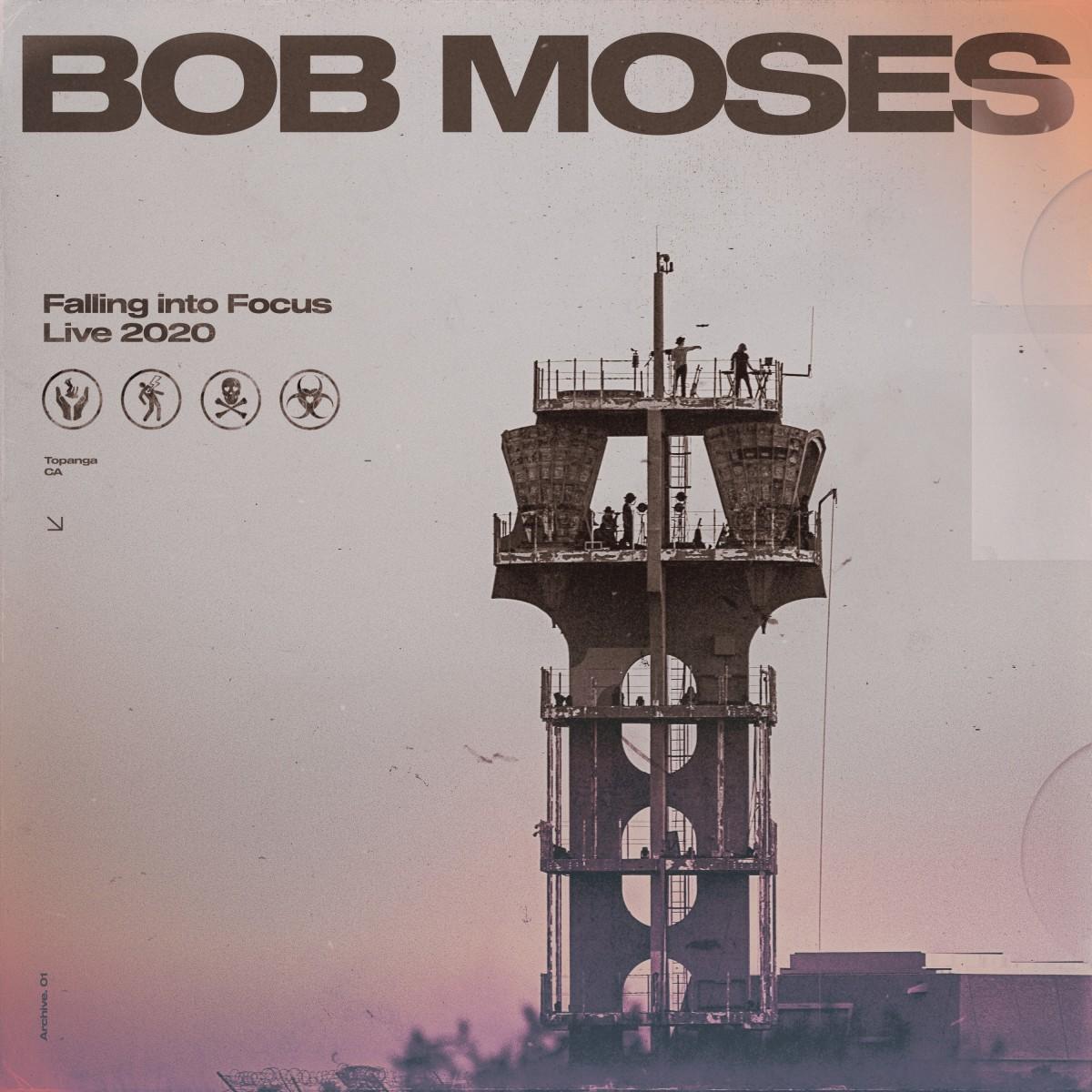 BOB MOSES - FALLING INTO FOCUS - LIVE 2020 - COUVERTURE DE L'ALBUM