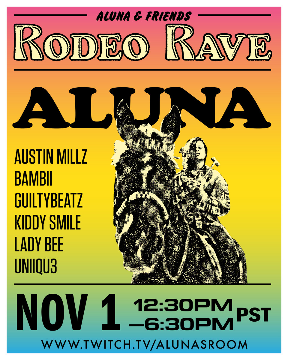 ALUNA & FRIENDS: RODEO RAVE