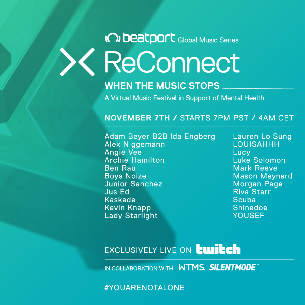 Beatport_ReConnect_WhenTheMusicStops_InstaFeed_Slide1
