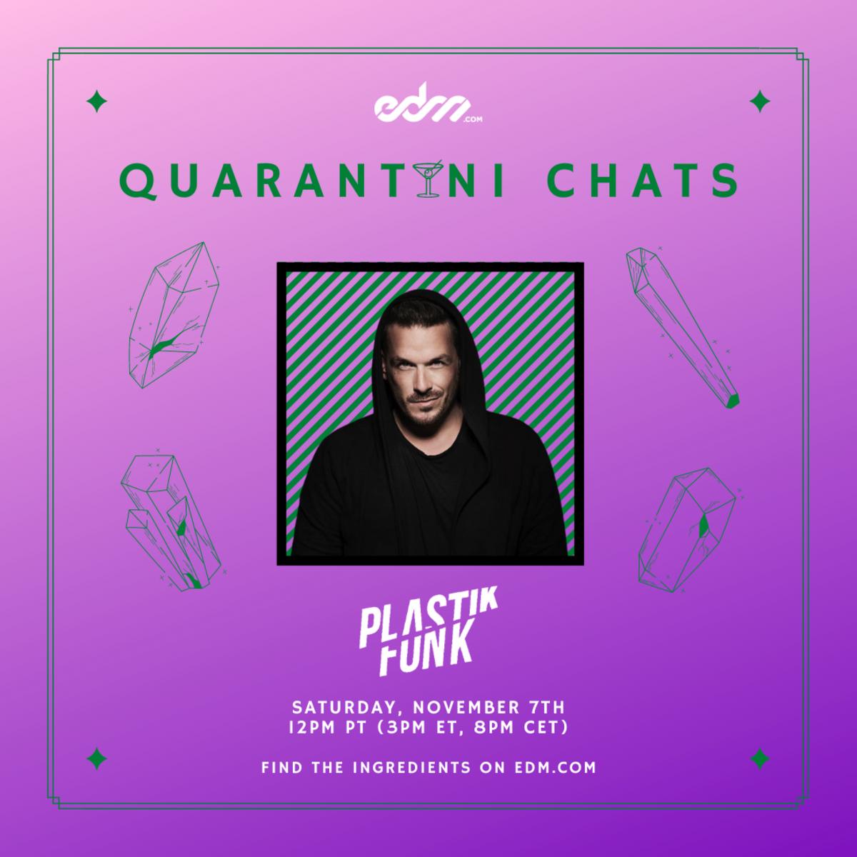 Plastik Funk Quarantini