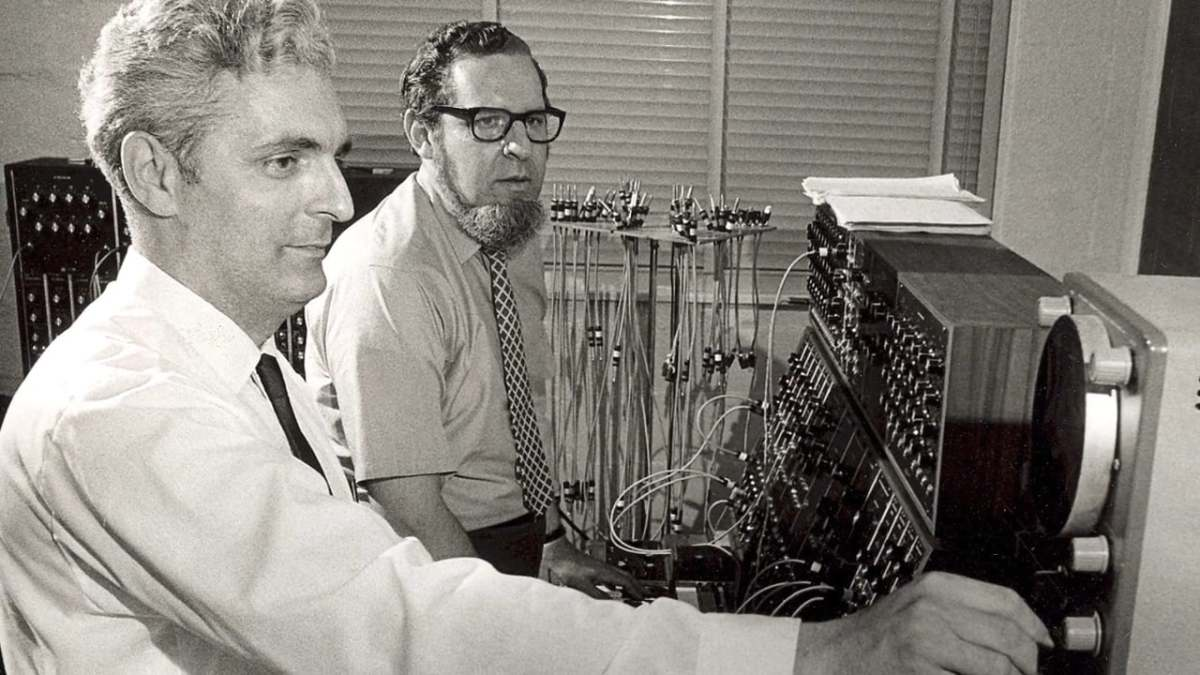 Bob Moog and Herb Deutsch.