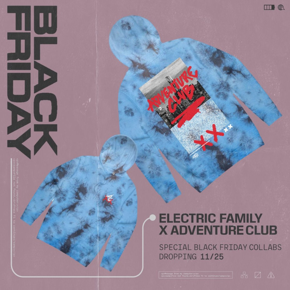 Electric Family Black Friday/Cyber Monday