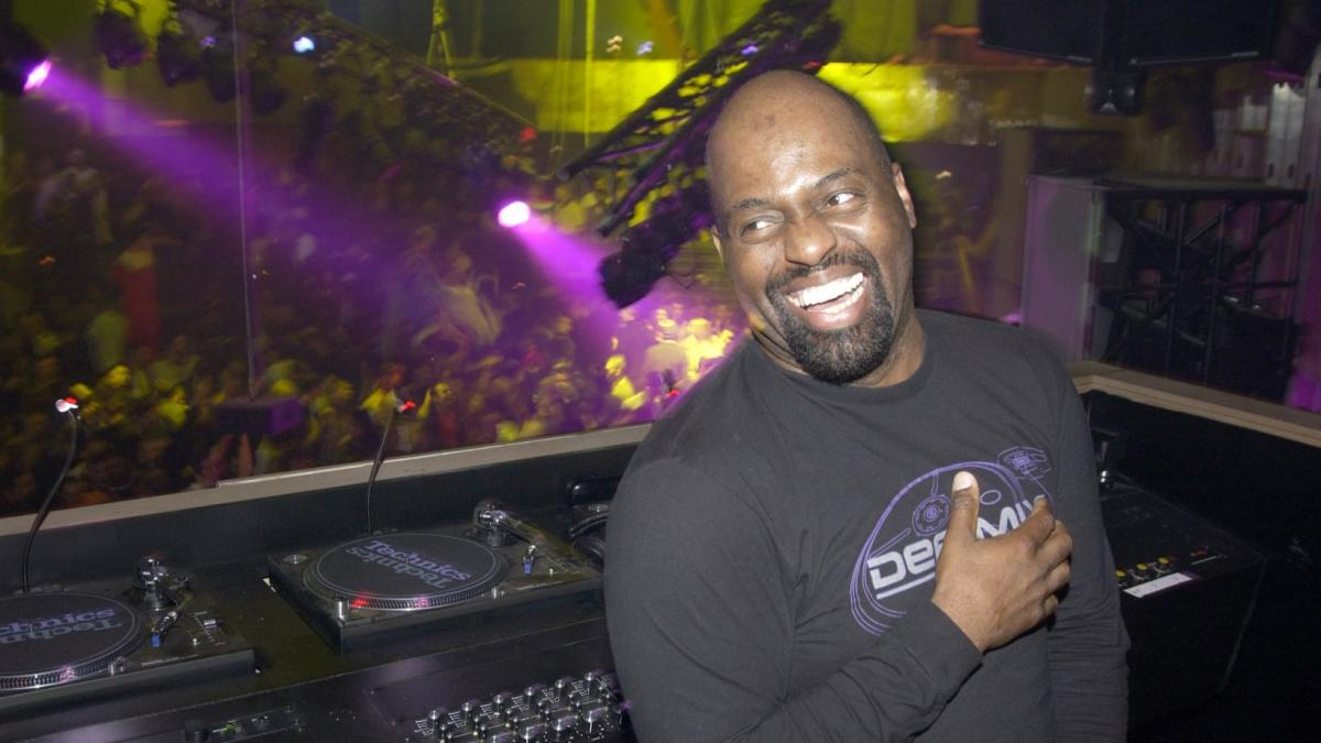 "Frankie Knuckles, widely known as ""the godfather of house music."""