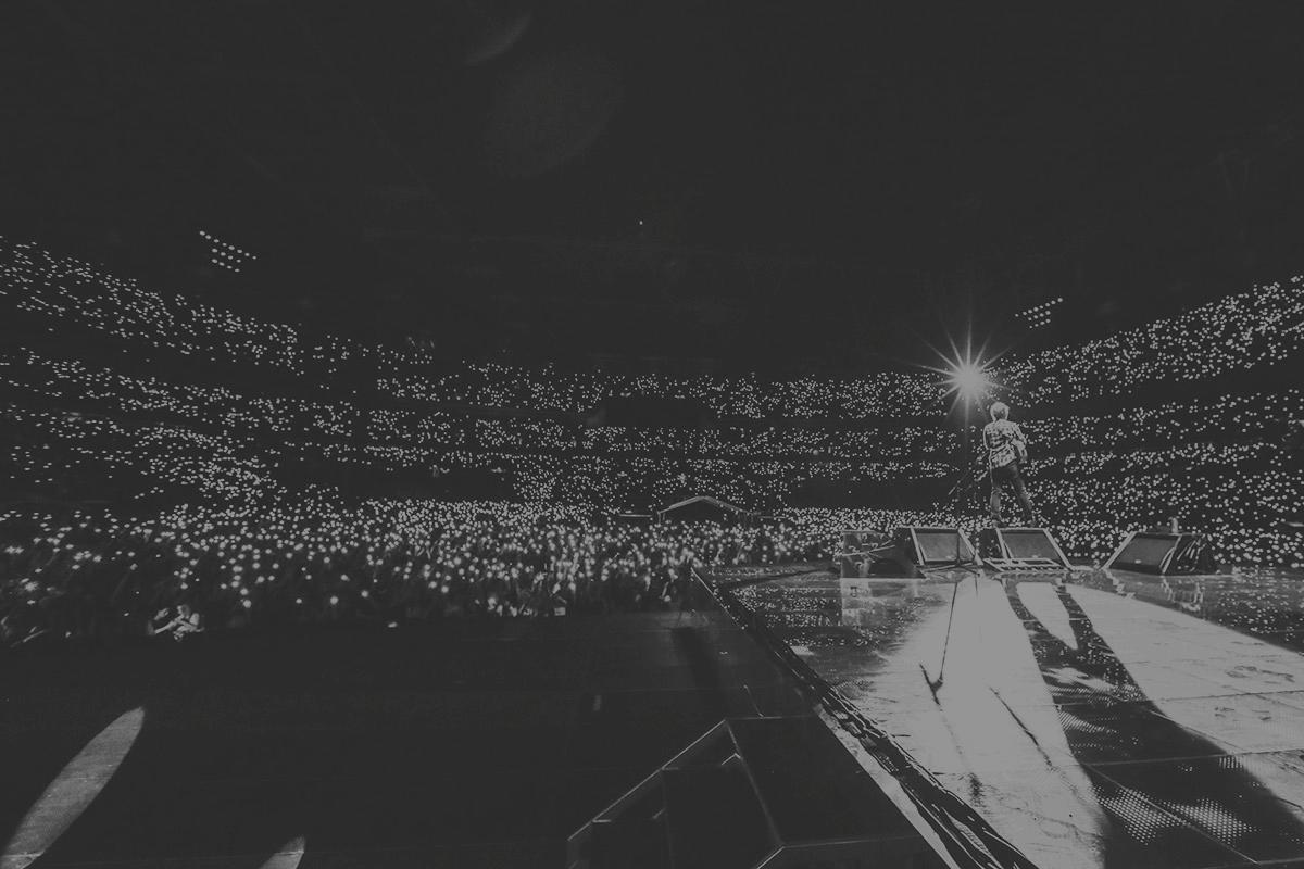 Ed Sheeran's÷ Tour.