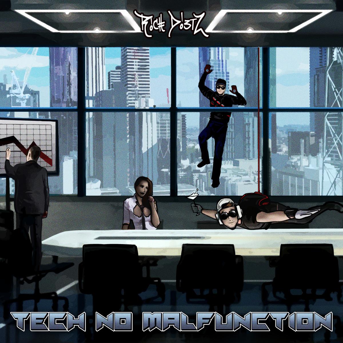 Rich Dietz - Tech No Malfunction - Cover