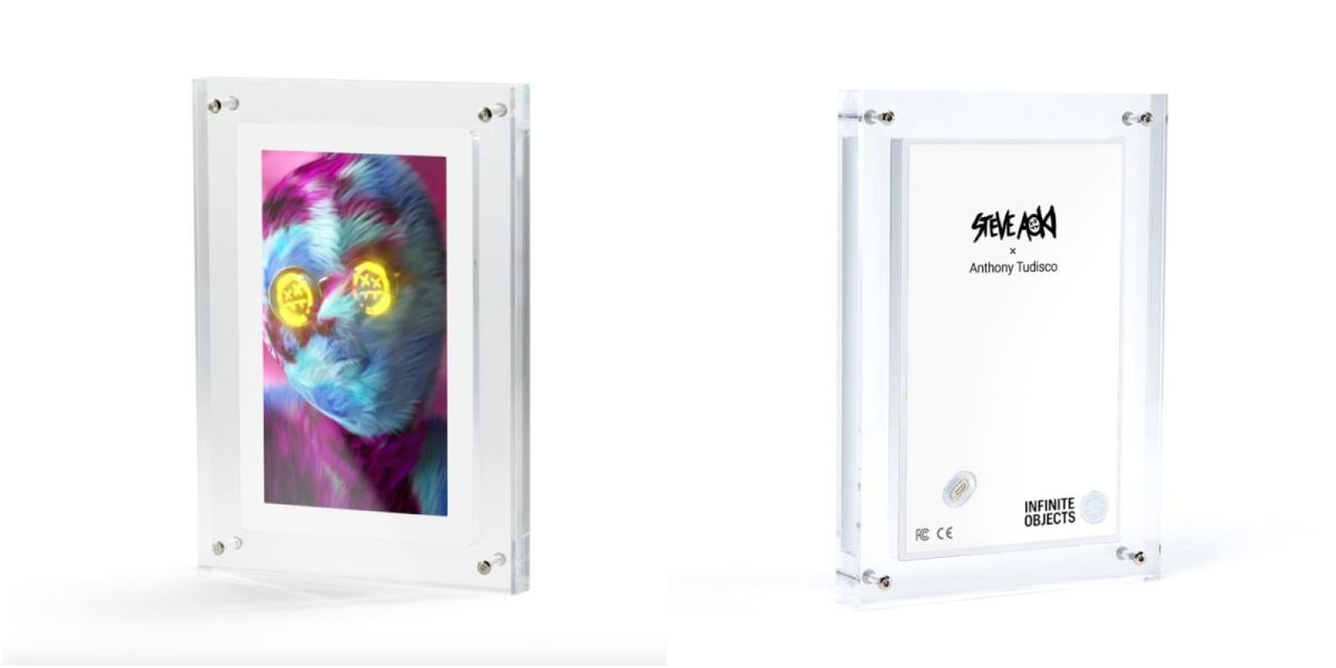 """A preview of Steve Aoki's """"Dream Catcher"""" NFT collection, sold on Nifty Gateway."""
