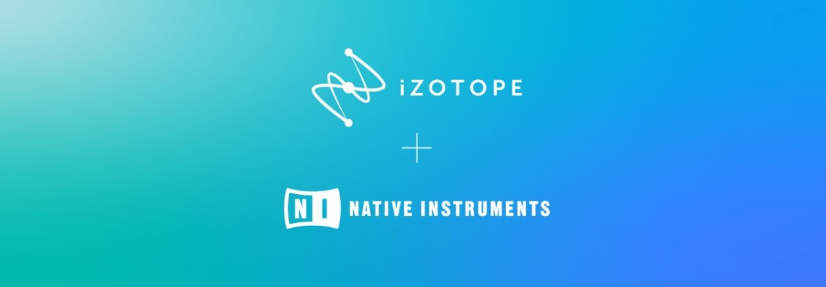 iZotope and Native Instruments, two of the most prominent companies in music production technology, have solidified a partnership.