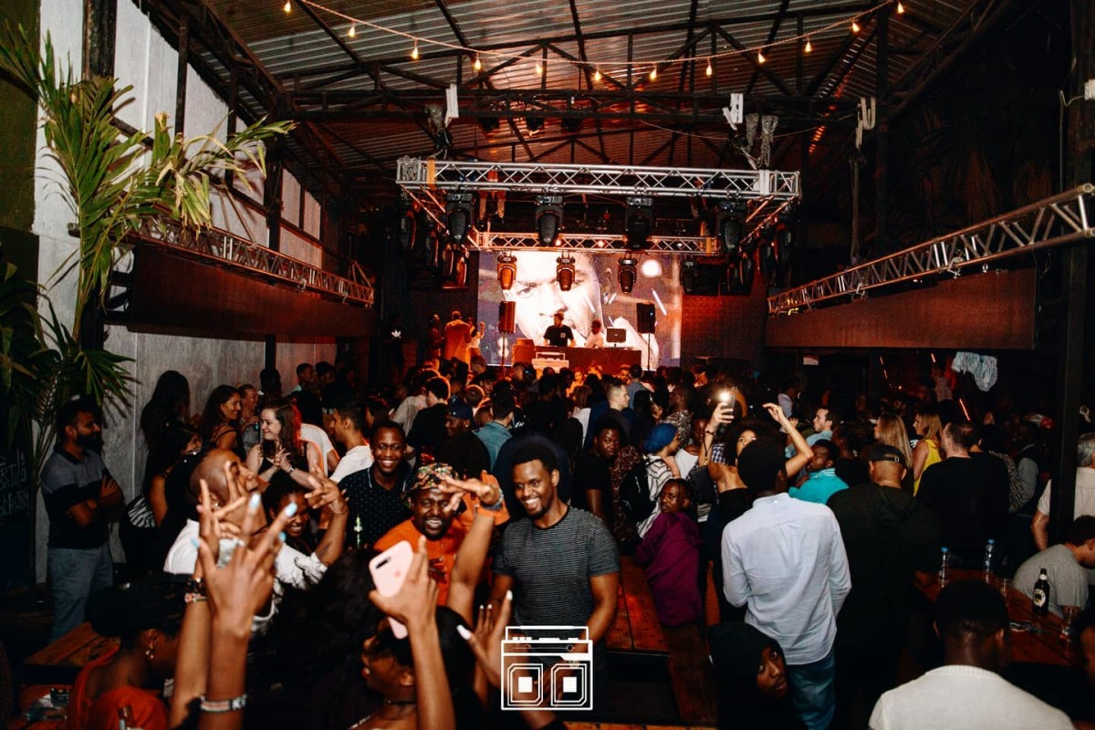 Nairobi's famed The Alchemist venue, prior to the COVID-19 pandemic.