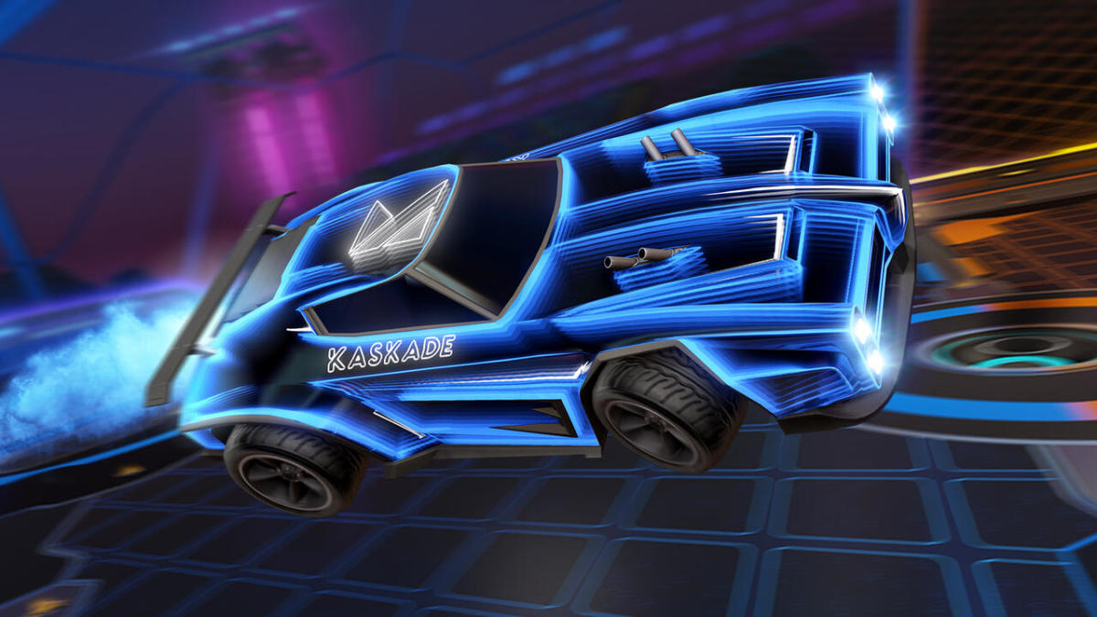 The music from Kaskade's Reset EP was available to be played within Rocket League.