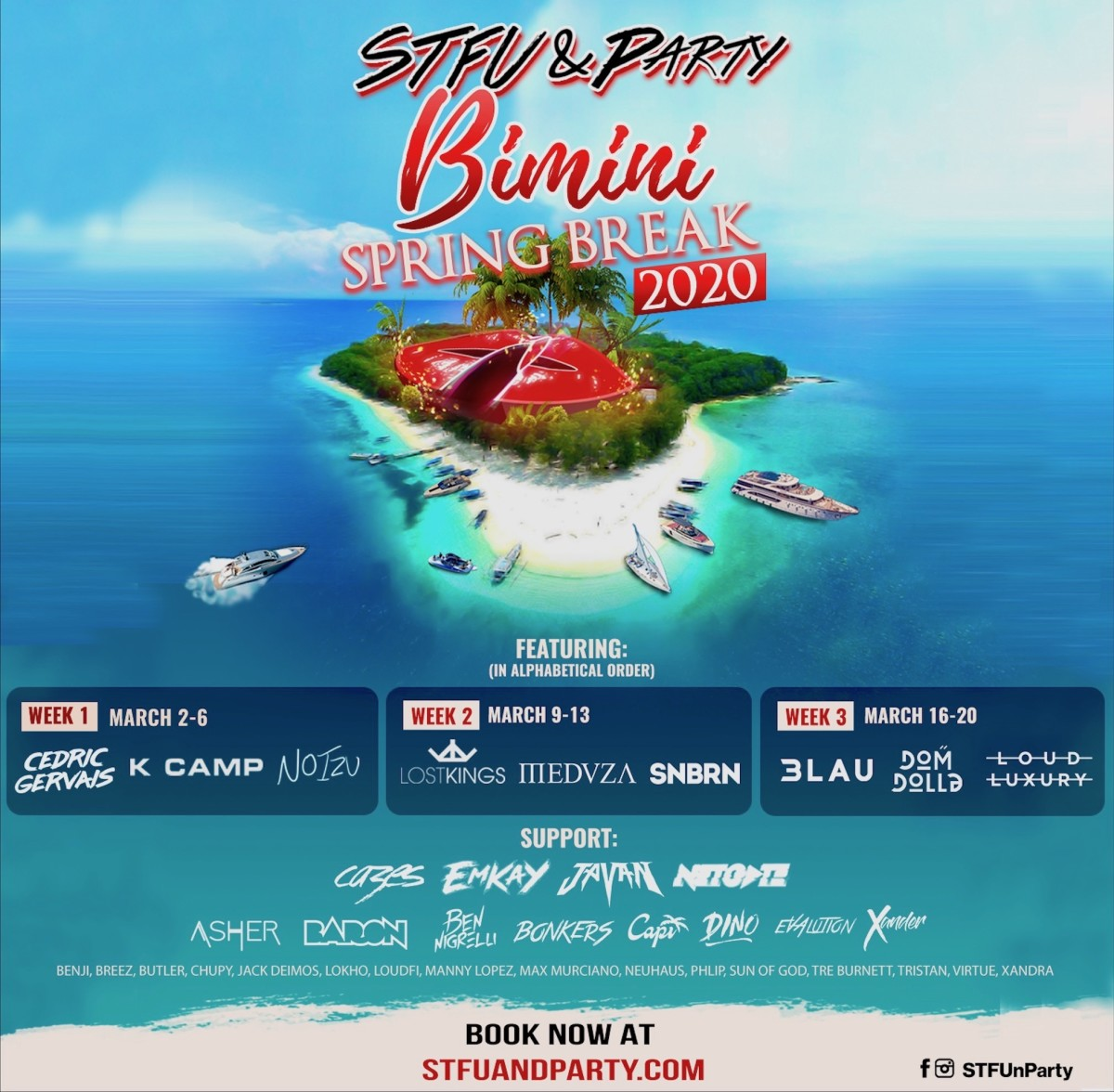 STFU & Party Bimini Spring Break