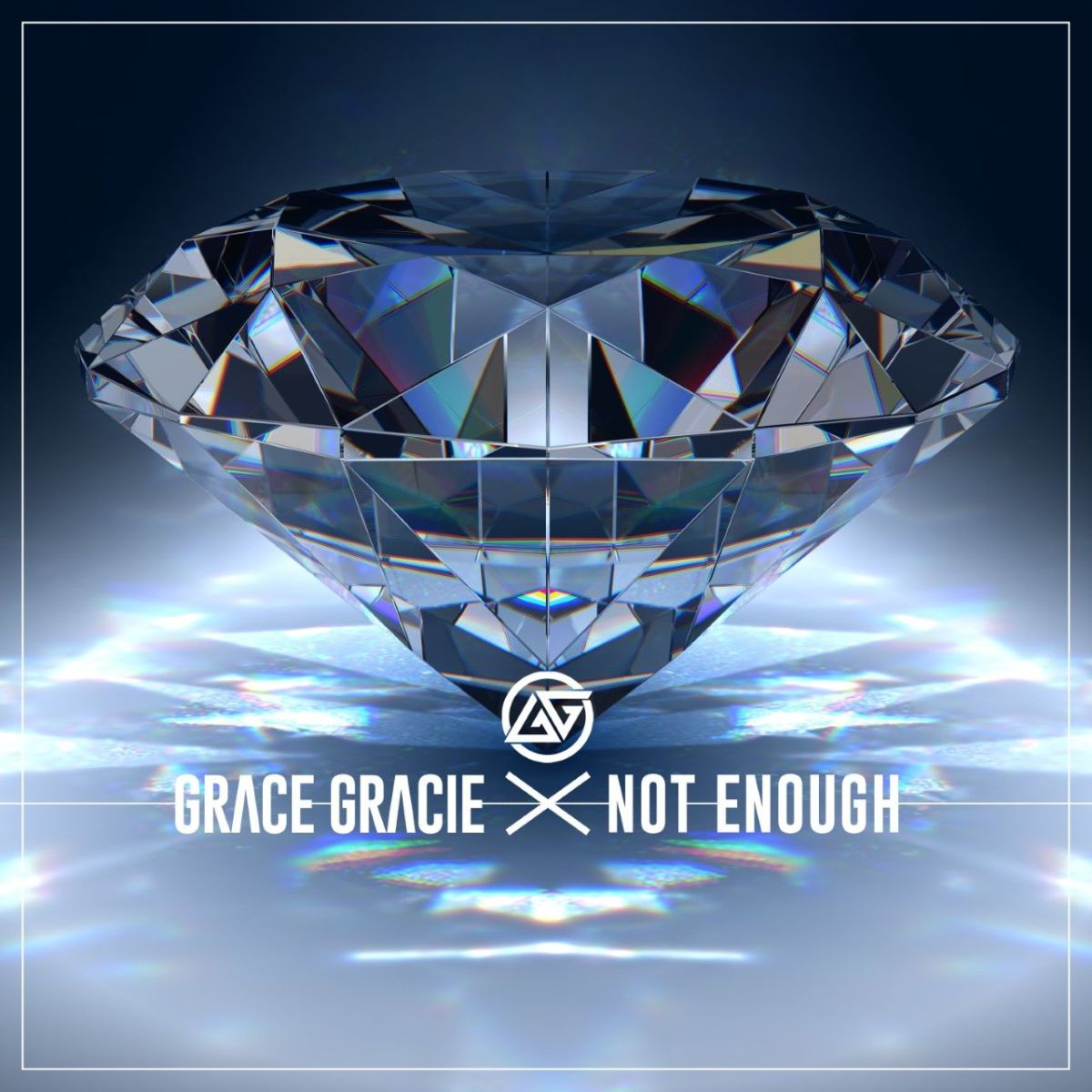 "Cover art for Grace Gracie's single, ""Not Enough."""