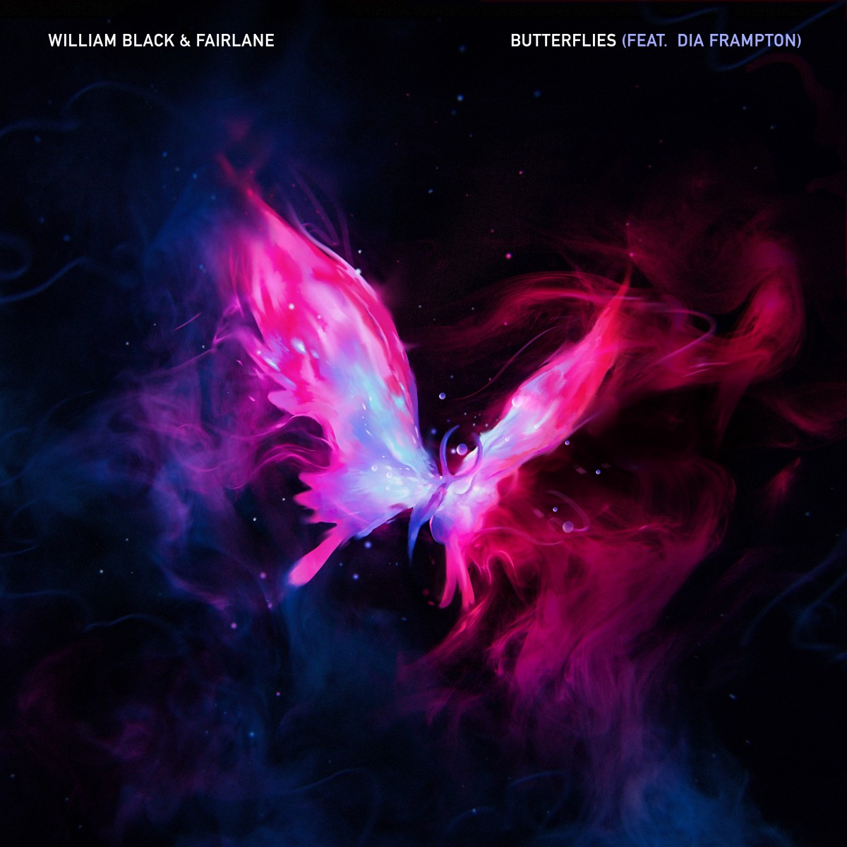 William Black & Fairlane - Butterflies (ALBUM ARTWORK)