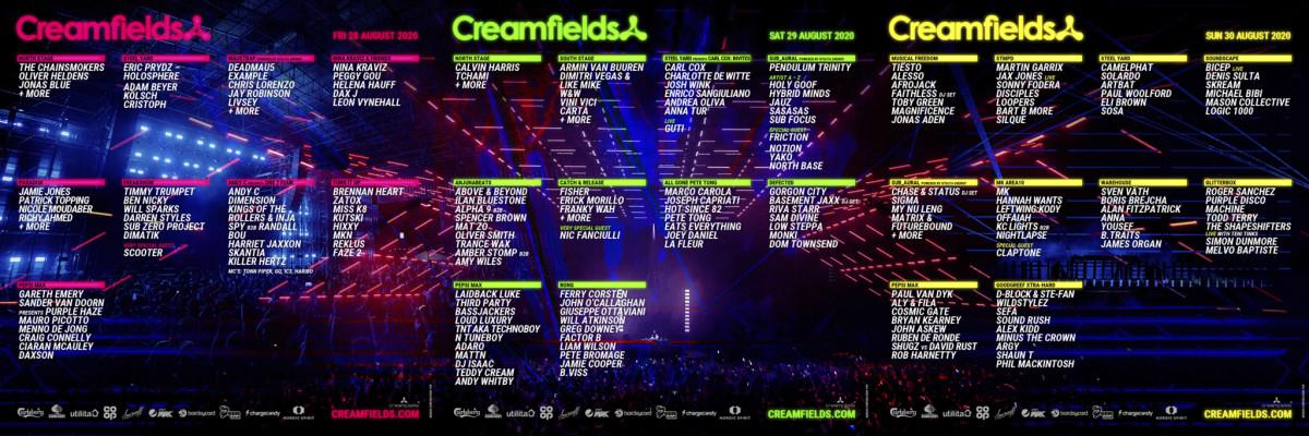 c/o Creamfields