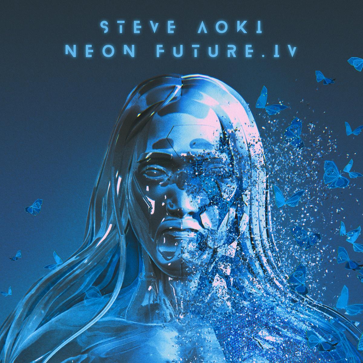 Steve Aoki Neon Future IV Cover Art