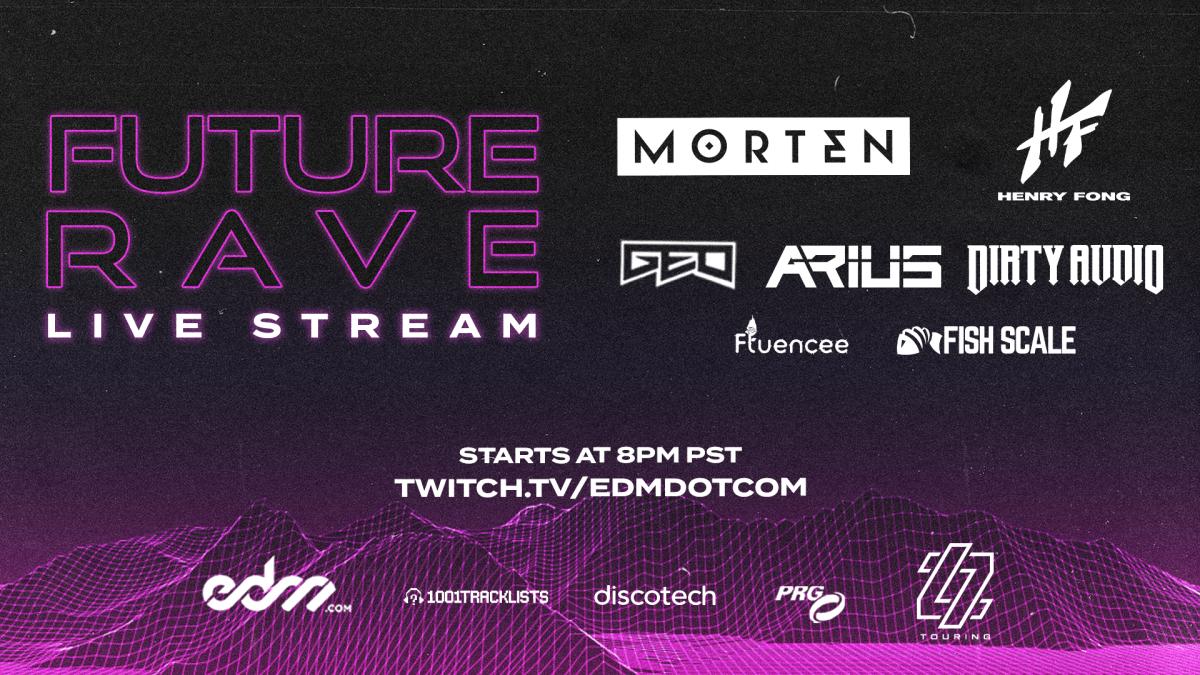 EDM.com Presents Future Rave: A Livestream Festival