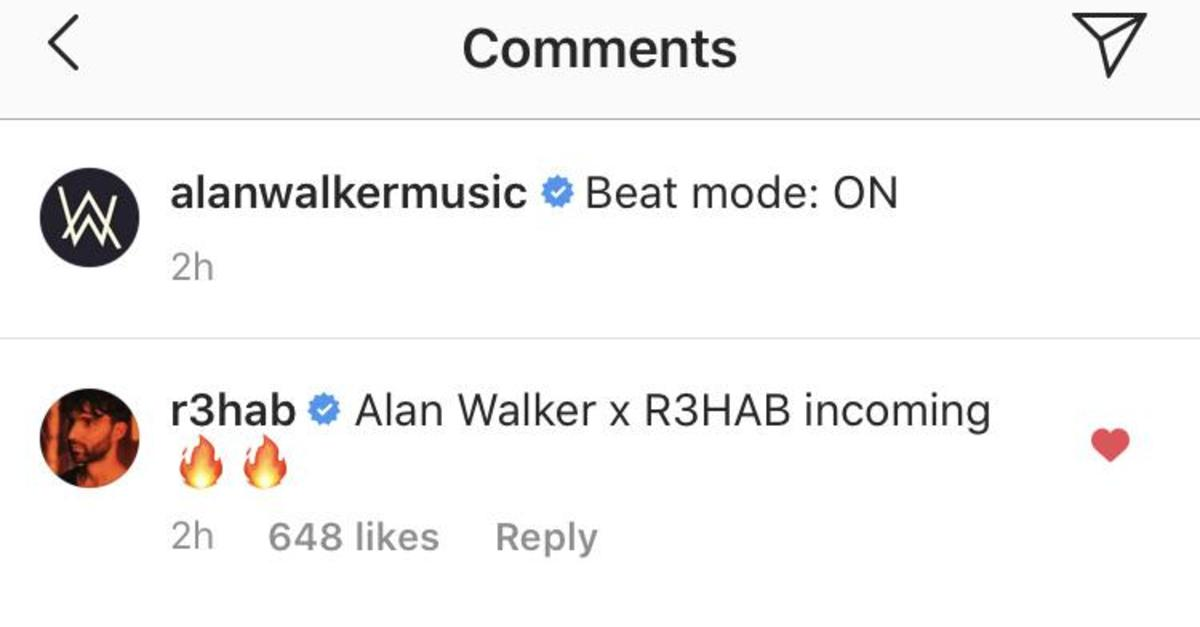 R3HAB Alan Walker