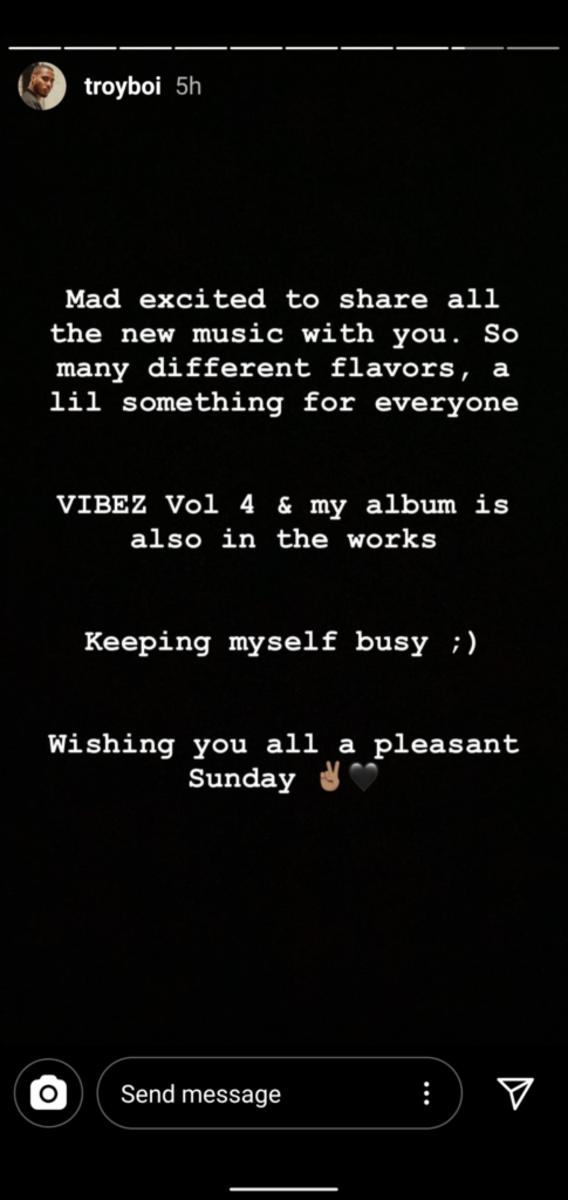 TroyBoi sophomore album announce