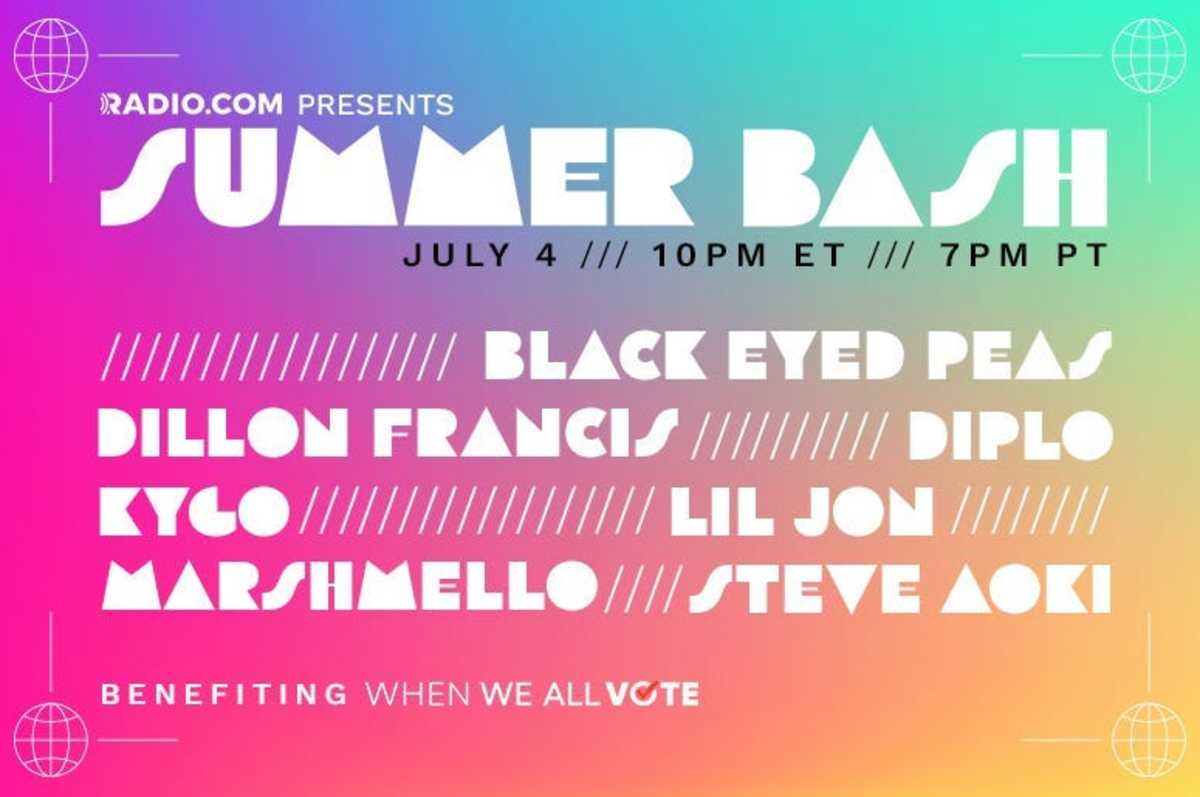 RADIO.COM Summer Bash Lineup