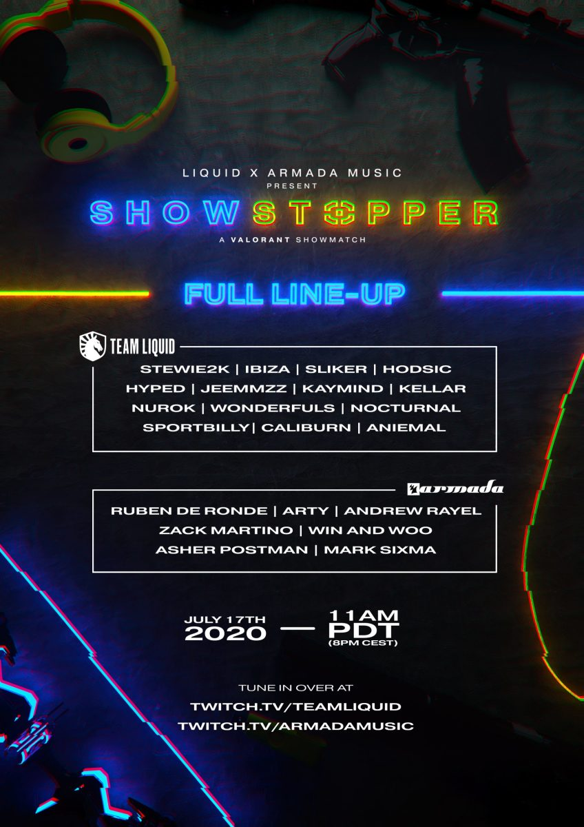 Showstopper Lineup