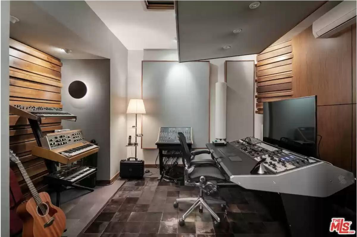 Eric Prydz Recording Studio Los Angeles Home