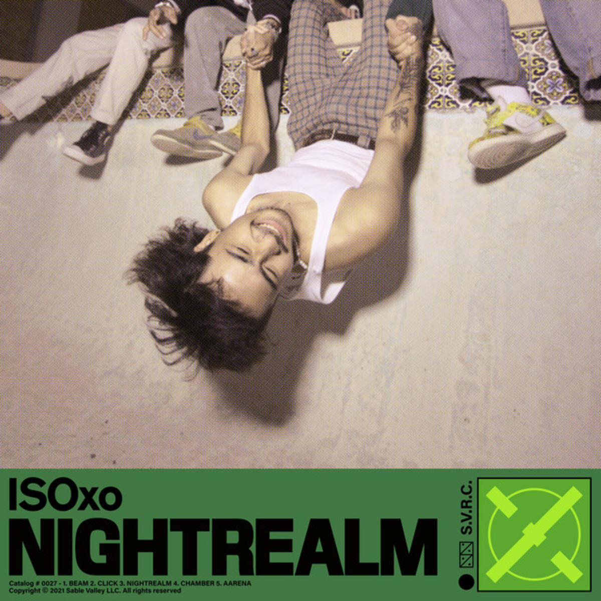 """Artwork for ISOxo's """"Nightrealm"""" EP."""