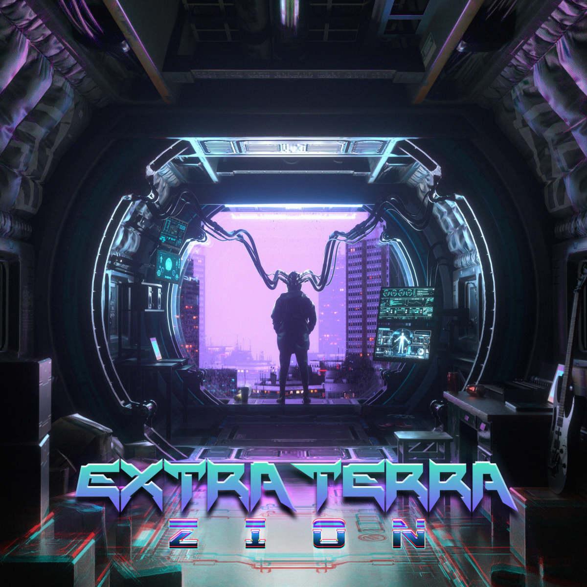 "Artwork for Extra Terra's ""ZION"" album."