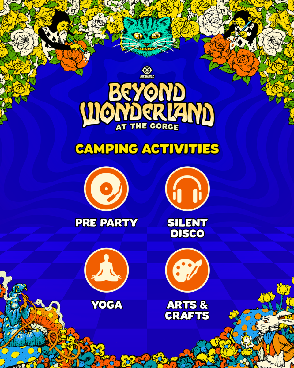 Beyond Wonderland at the Gorge Camping Activities