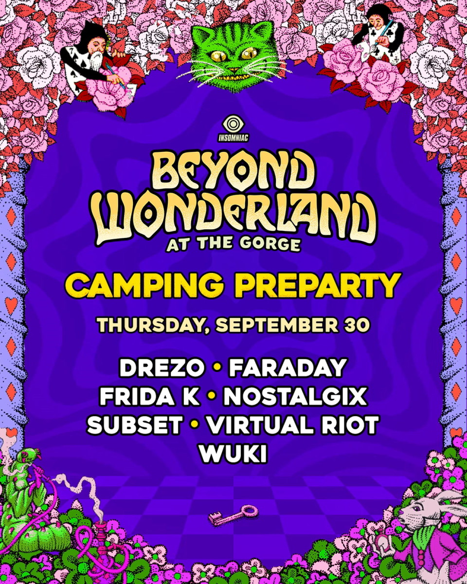 Beyond Wonderland at the Gorge Pre-Party