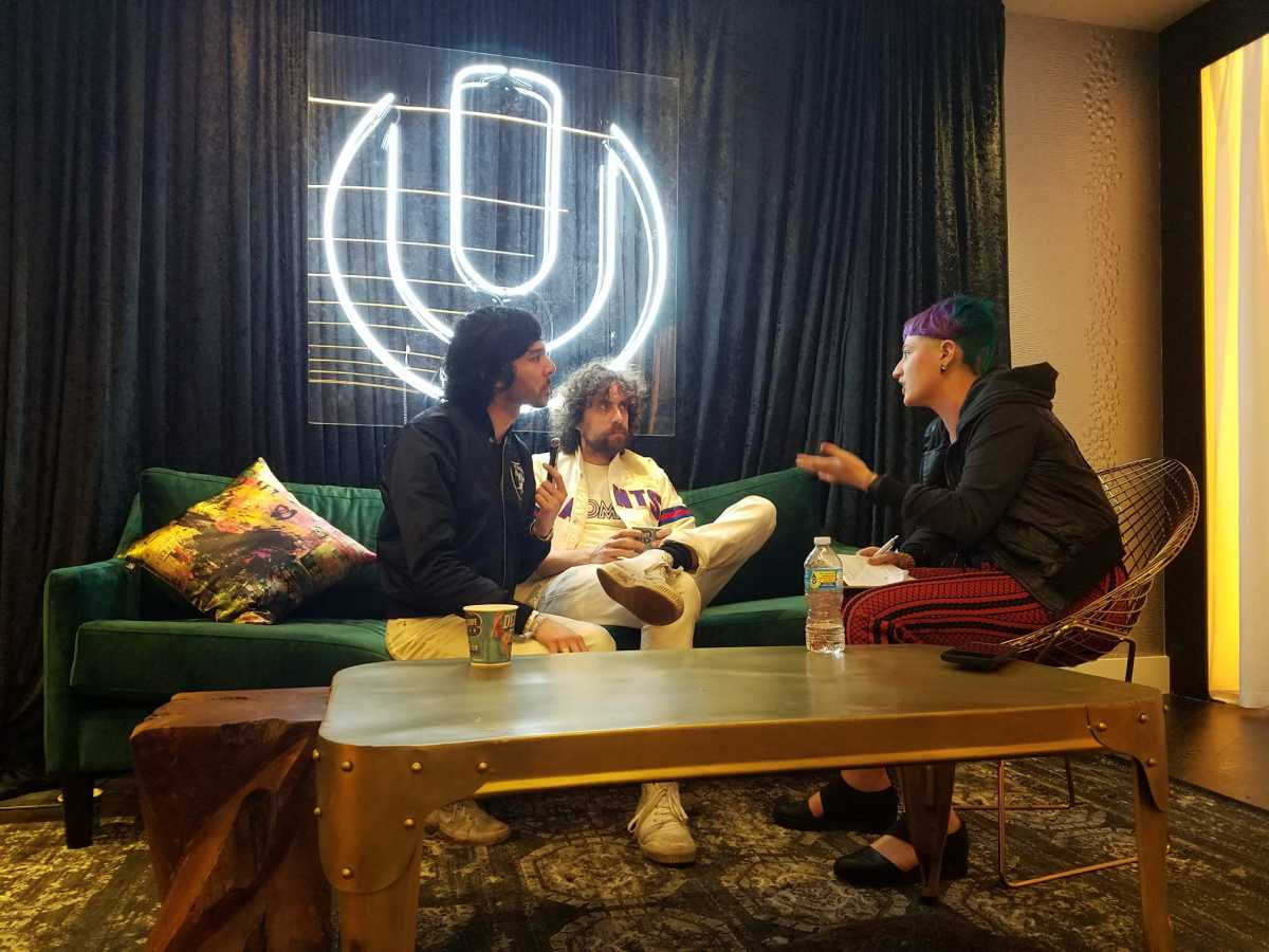 Kat Bein interviews Gaspard Augé and Xavier de Rosnay of renowned French electronic otufit Justice.