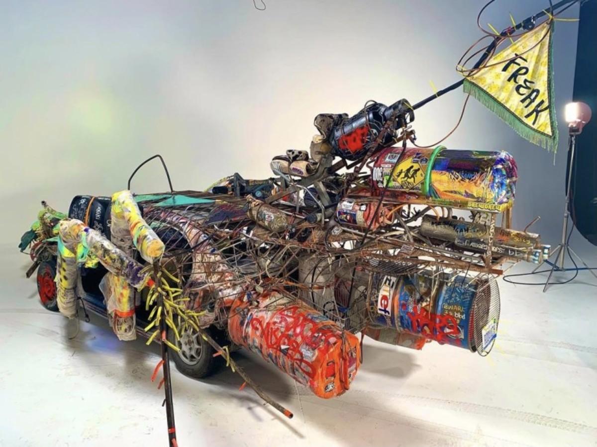 CarCroach-A Motor City Survivor, Built for Black Rock by Ryan C. Doyle.