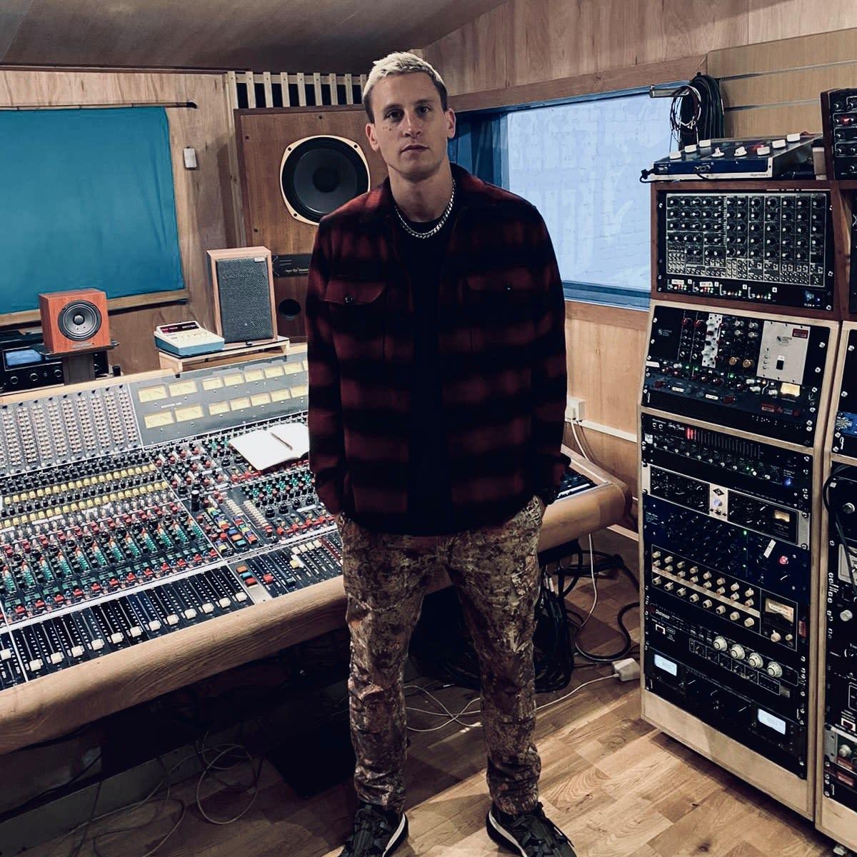 Eli Brown spending time in his studio in 2021.