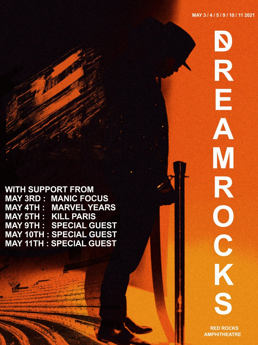 """ZHU will return to Colorado's Red Rocks Amphitheatre for a six-night """"DREAMROCKS"""" run in May 2021."""