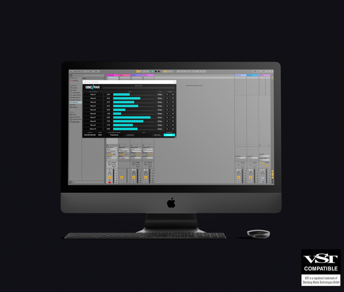 The new OSC/PAR performance tool from deadmau5.