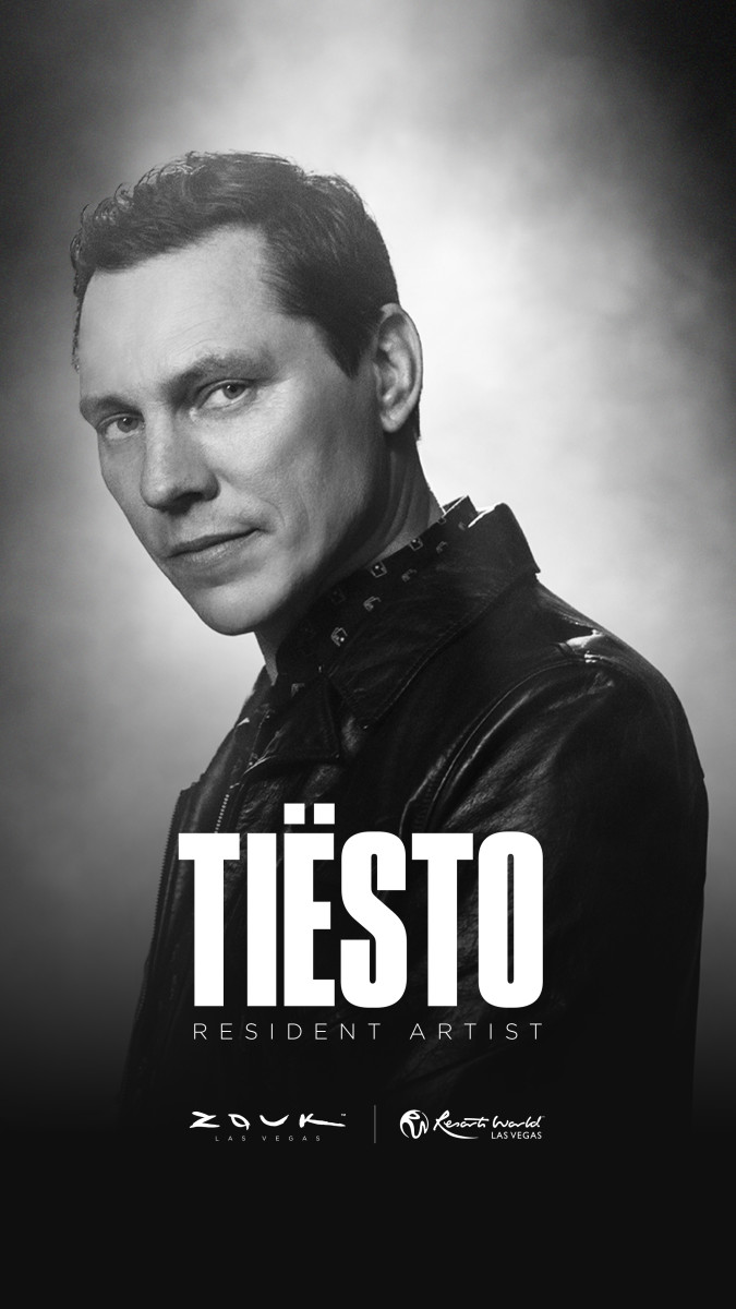Tiësto has landed residencies at Las Vegas' two newest clubs, Zouk Nightclub and Ayu Dayclub.