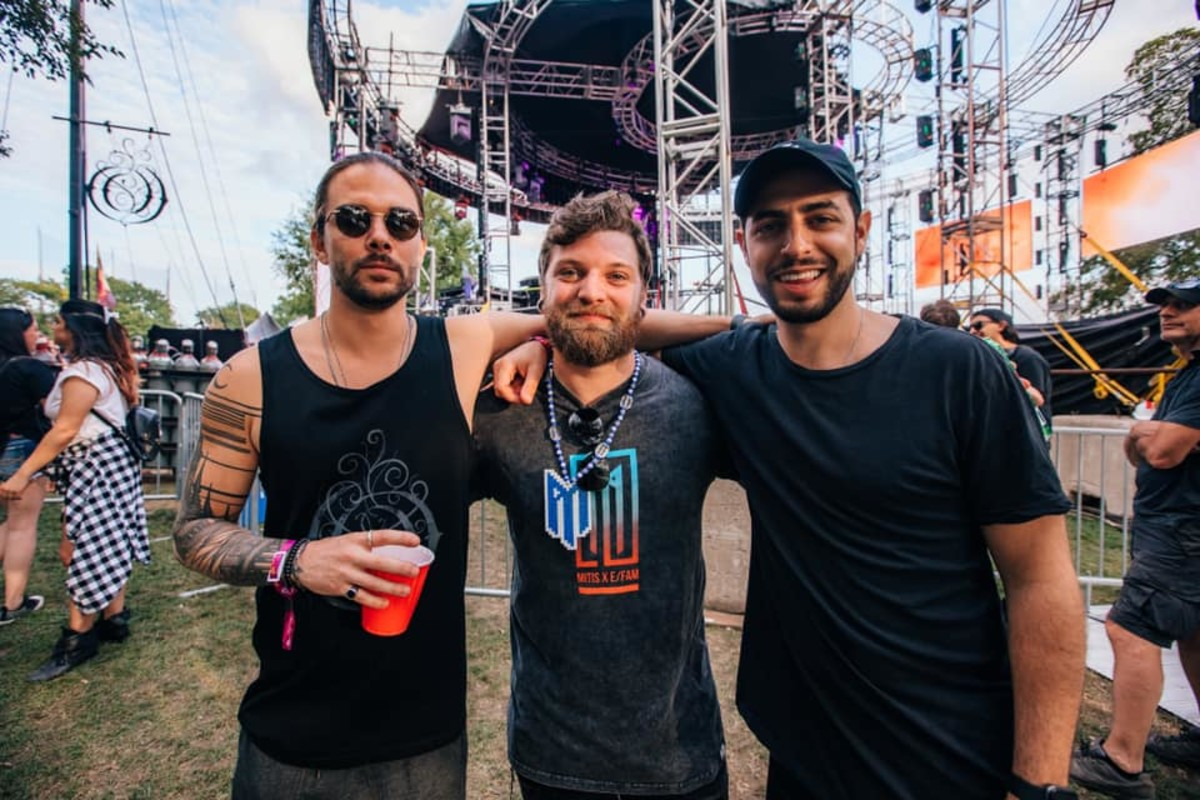 Seven Lions, MitiS and Jason Ross