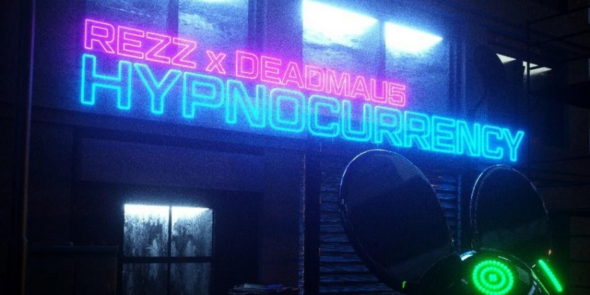 "deadmau5 and REZZ unveiled their ""Hypnocurrency"" NFT drop on the MakersPlace marketplace today, April 20th."